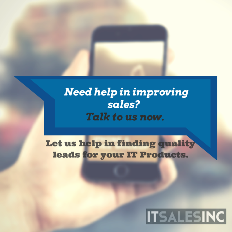Need IT sales leads?
