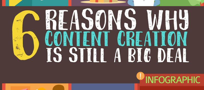 6 Reasons Why Content Creation is still a Big Deal