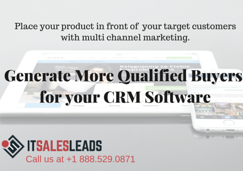 Get More Qualified Buyers for CRM Software - ITSalesLeads